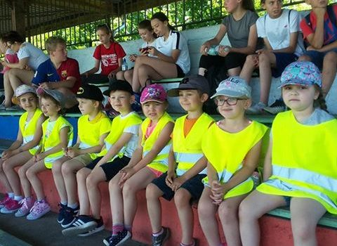 Dzień Dziecka na aleksandrowskim stadionie